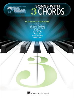 00249679 E-Z Play Today 24: SONGS with 3 CHORDS